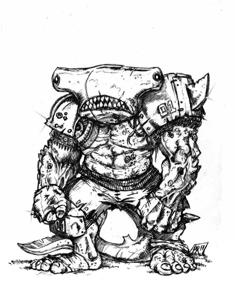 Hungry Troll - Gobs pirates par Pedro Ramos Troll10