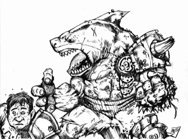 Hungry Troll - Gobs pirates par Pedro Ramos Troll210