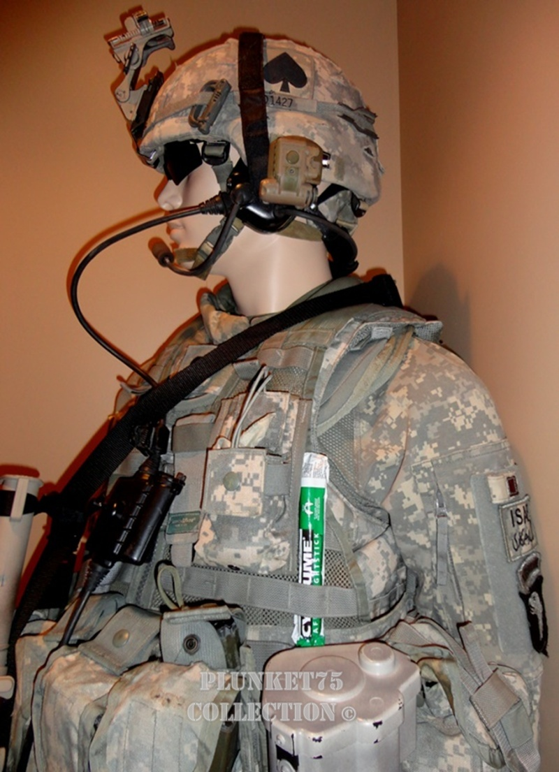 506th BCT, 101st Airborne, Afghanistan ~ 2009 mannequin display 506th112