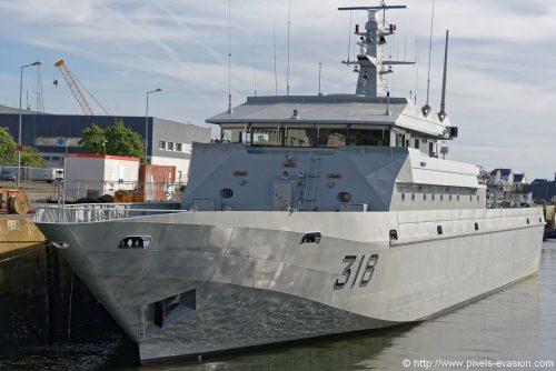 Royal Moroccan Navy Patrol Boats / Patrouilleurs de la Marine Marocaine - Page 12 Dsc_7410