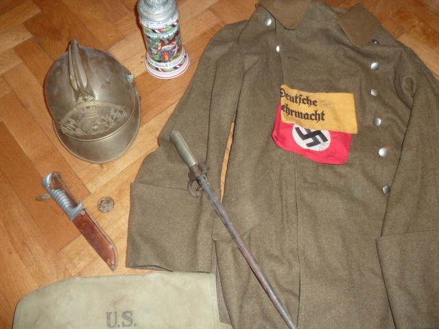 Sturmabteilung, US army, brassards, Maschinegewehrabteilung......pour la semaine 12/2017. P1460511