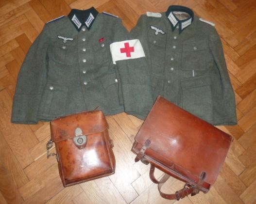 De l'uniforme Wehrmacht, du sanitaire pour le prochain update de www.alsacedirectmilitaria.com P1470612