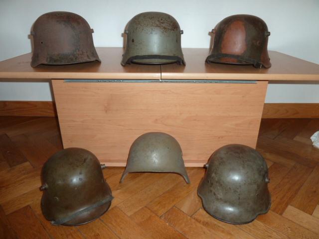 Beaucoup de choses, mais surtout des casques allemand. P1500010