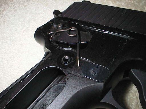 Ressort de levier détente P220 P226ne10