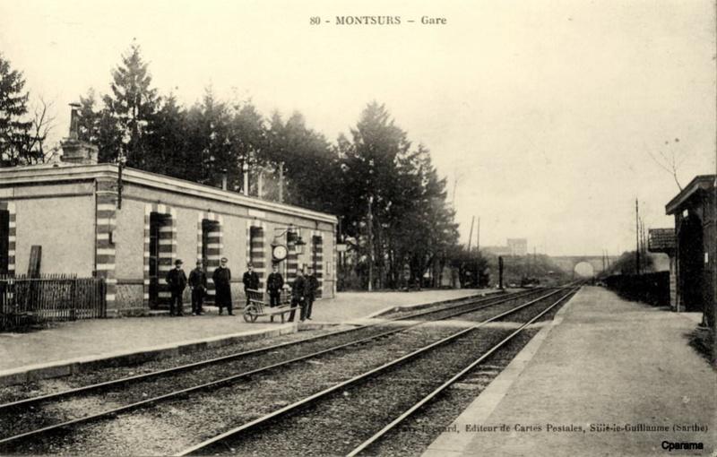 Gare de Montsûrs (PK 281,4)  13805210