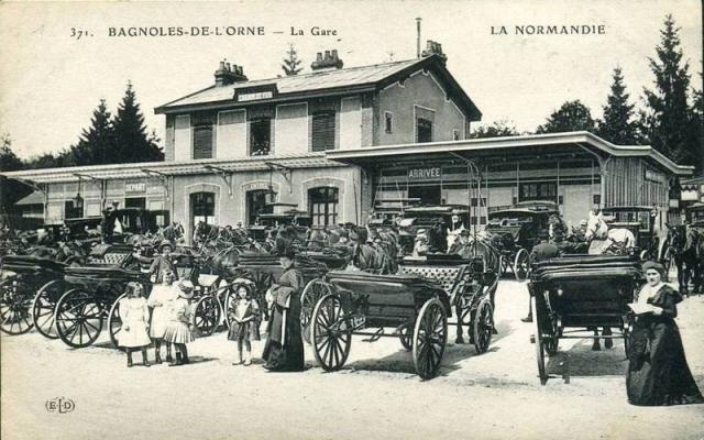 Bagnoles de l'Orne - Page 2 Gare6613