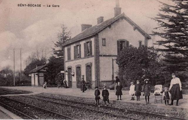 La ligne Caen-Vire - Page 5 Gare9811