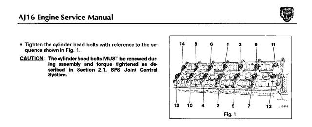 Remplacement Joint de Culasse sur AJ16 X300_t10