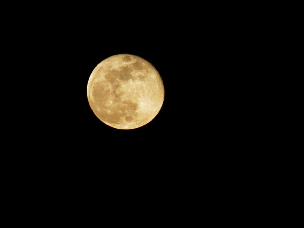 La lune depuis chez moi ce soir P3131011