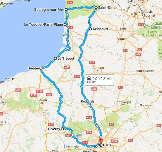Sortie Haut de France et Normande Parcou10