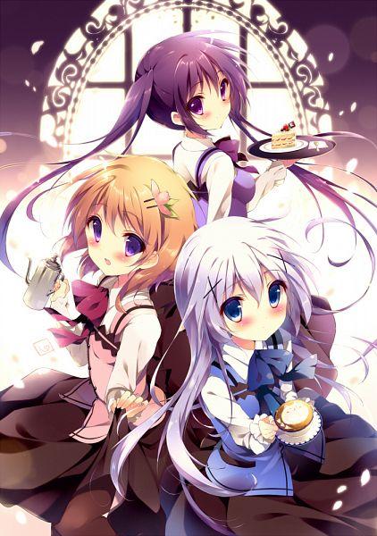 [ANIME/MANGA] Gochuumon wa Usagi desu Ka ? (Is The Order A Rabbit ?) Gochuu10