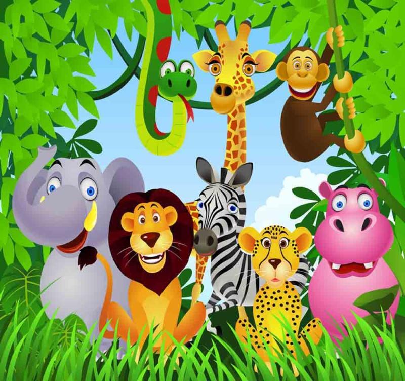 bapteme  theme jungle Baby-s10