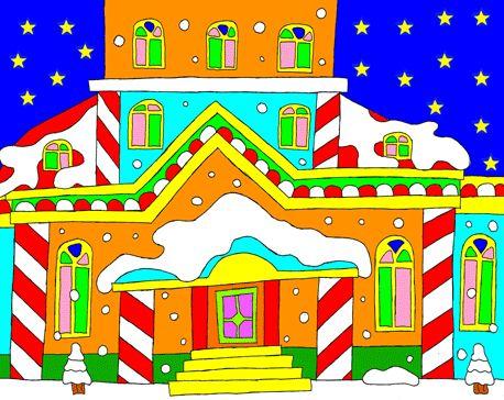 Un drôle de Noël! Maison12