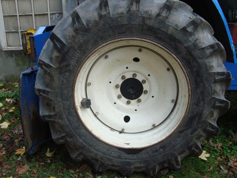 tracteur forestier New Holland TM155 Dsc08326
