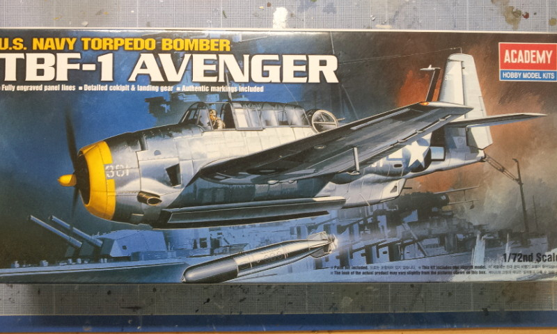 [Academy]Grumann TBF-1 Avenger 2016-031
