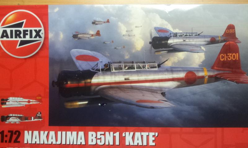 [Airfix]Nakajima B5N1 Kate 2016-142