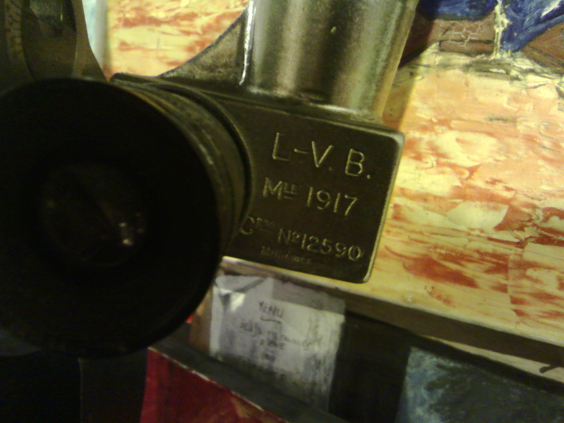 Petite estimation urgente Binoculaire de tranchée Huet modèle1917 Img_2078