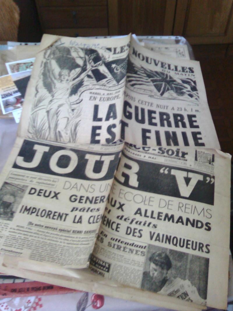 Estimation revue Signal et journaux 8 mai 1945 Img_2094
