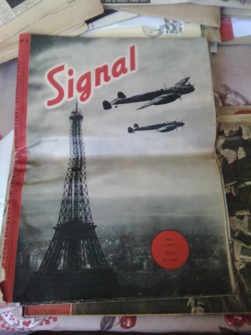 Estimation revue Signal et journaux 8 mai 1945 Img_2095