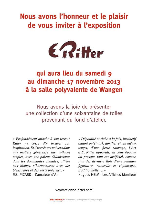 Etienne RITTER - Artiste peintre - Page 3 Flyer-11
