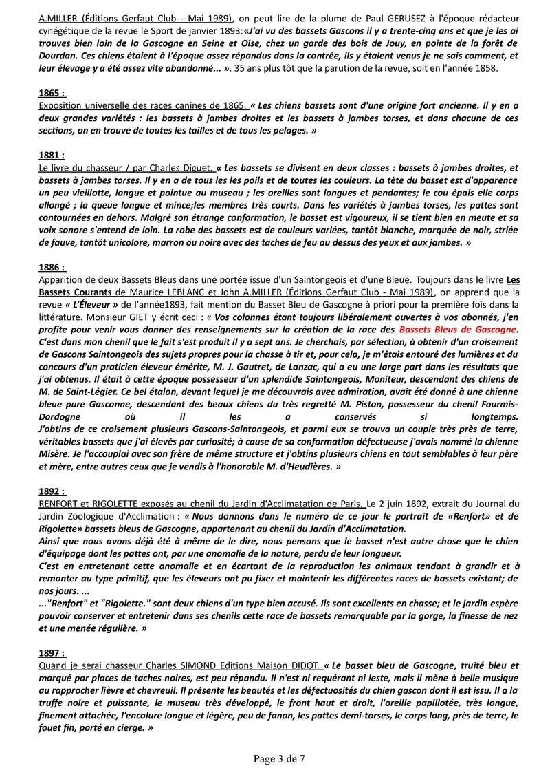 Origine du Basset Bleu de Gascogne Histor12