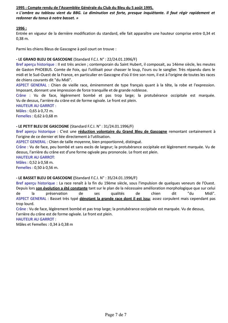 Origine du Basset Bleu de Gascogne Histor15