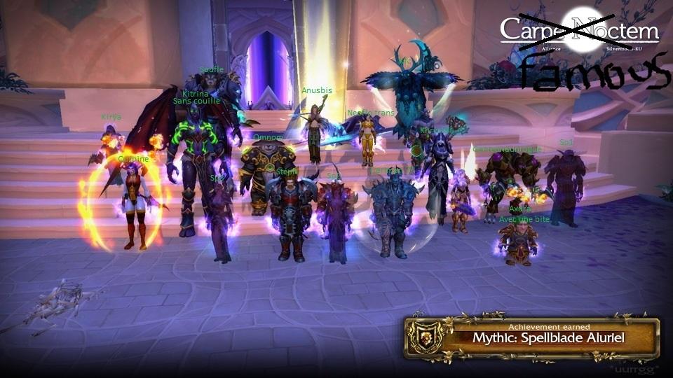 Alluriel Mythic Down ( 5/10 ) 28039211