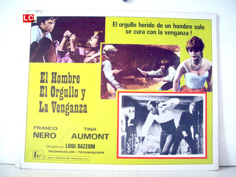L'homme , l'orgueil et la vengeance . L'uomo, l'orgoglio, la vendetta . 1967 . Luigi Bazzoni . _5710