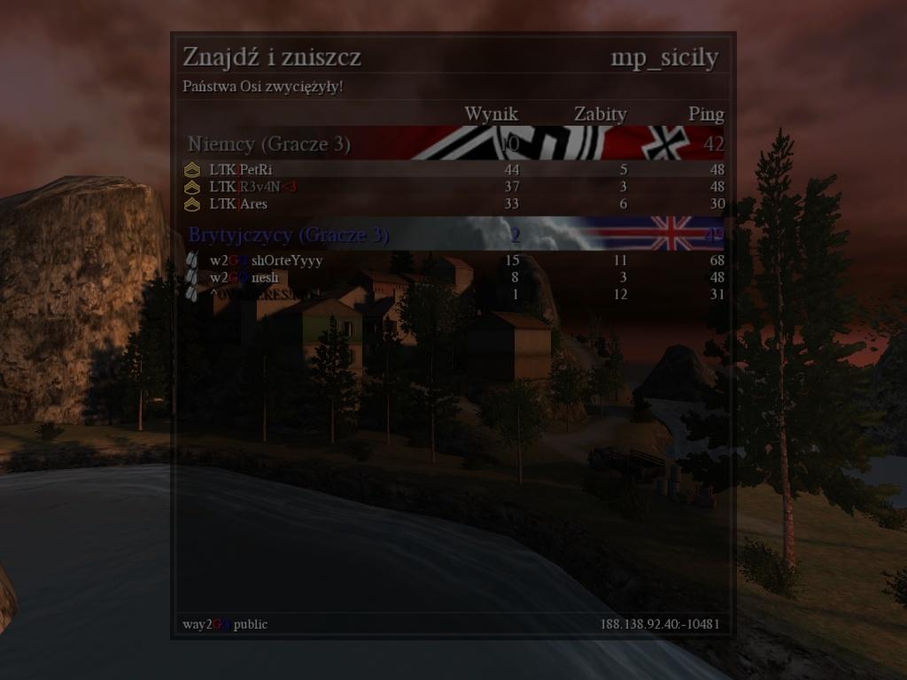 Fun War (FW) LTK vs. W2GO  04.10.2013 23:30 gtm +1 Coduom12