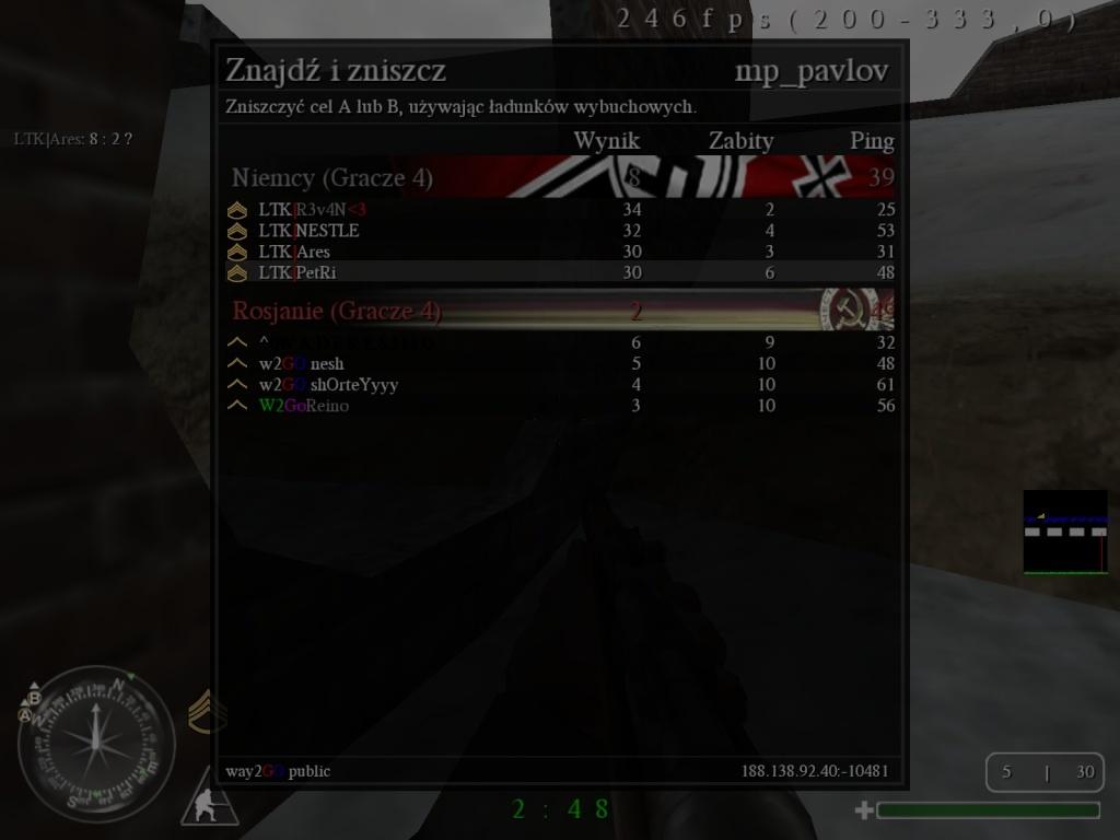 Fun War (FW) LTK vs. W2GO  04.10.2013 23:30 gtm +1 Coduom13