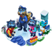 Famille de Singes Bleus => Poil de Singe Bleu Bluemo10
