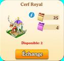Cerf Royal => Ramure Argentée Sans_245