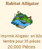 Habitat Alligator => Imprimé Alligator Sans_377