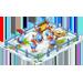 Poulaillers / Poulailler Coloré / Poulailler des Bleus / Poule Football / Poulailler Flocon de Neige => Oeuf Snowfl10