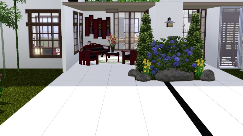 Modern Japanese Inspired Home Scree350