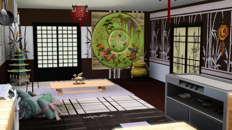 Modern Japanese Inspired Home Scree351