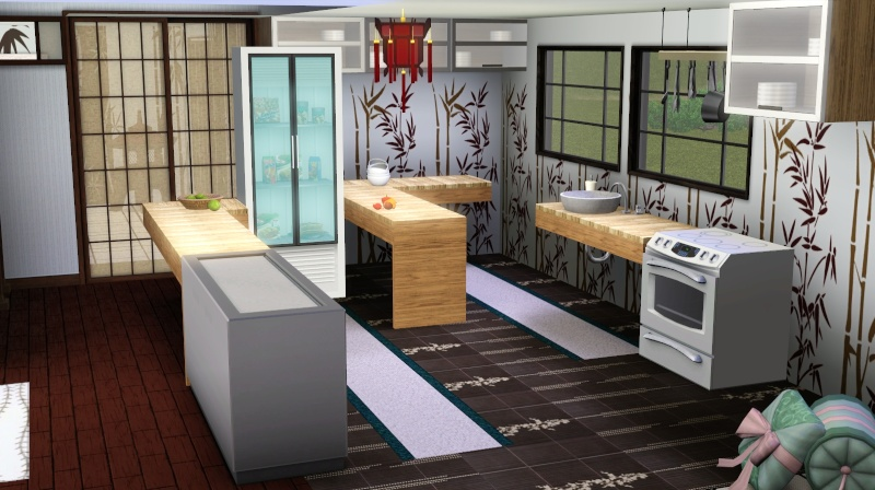 Modern Japanese Inspired Home Scree352