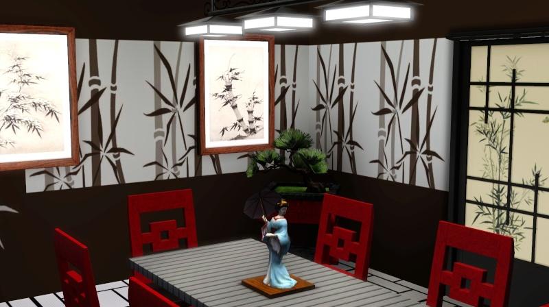 Modern Japanese Inspired Home Scree354