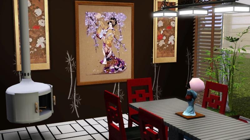 Modern Japanese Inspired Home Scree355