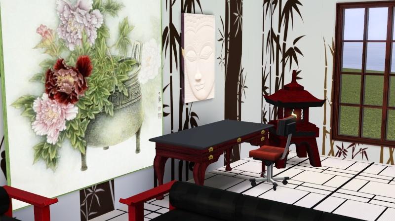 Modern Japanese Inspired Home Scree357