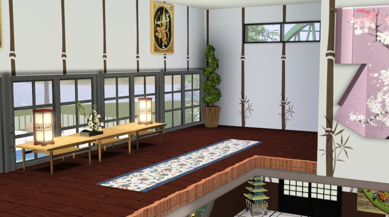 Modern Japanese Inspired Home Scree358