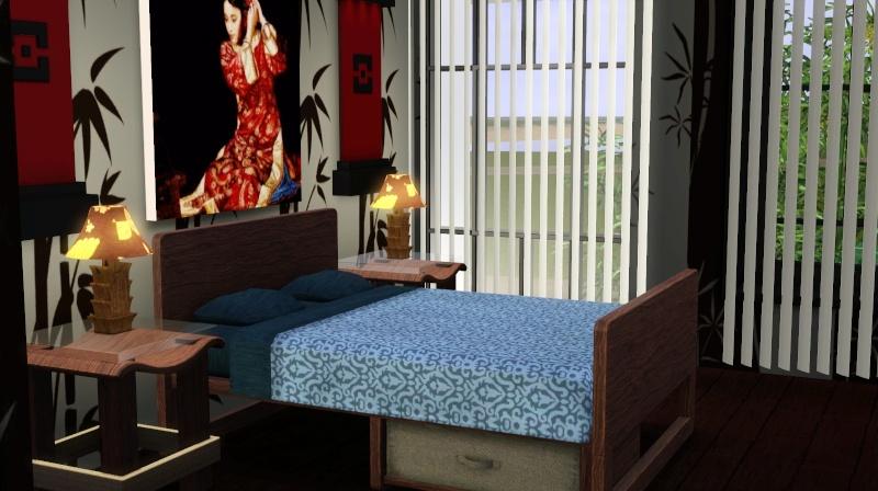 Modern Japanese Inspired Home Scree365