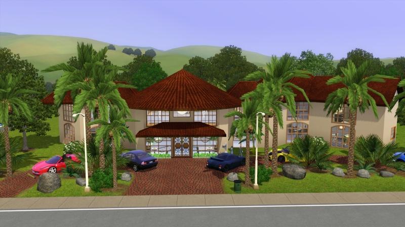 Palm Mansion Scree674
