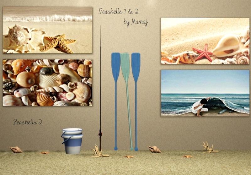 Seashells set 1 & 2 Scree776