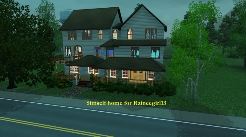 A simself home for Raineegirl13 Screen76