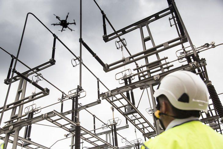 1er vol de 50 km en France pour un drone civil opéré par RTE  Ca avance dans le domaine des multirotors! A_dron10