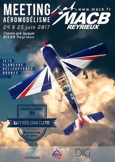 Les 24 & 25 Juin à REYRIEUX meeting Affich10