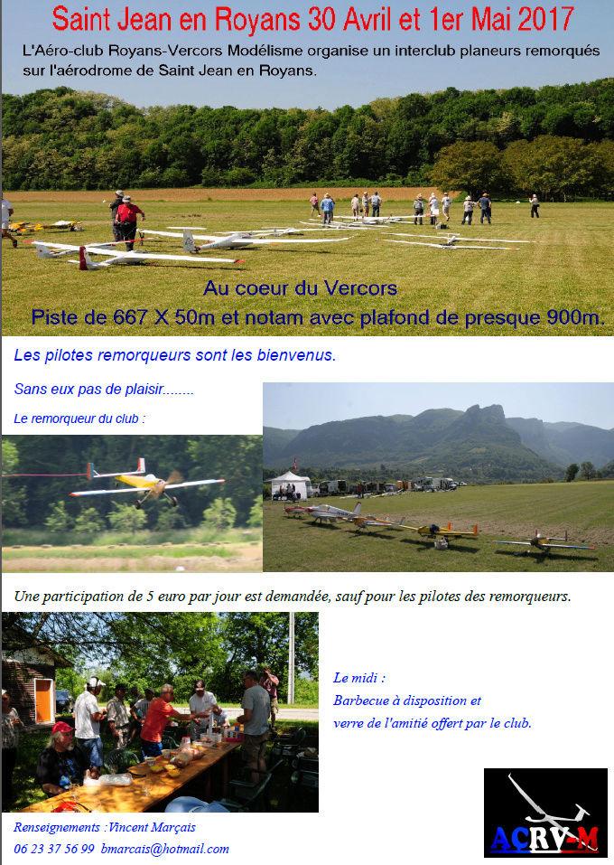 L'Aéro-club Royans-Vercors Modélisme  organise le 30 avril et le lundi 1 mai 2017. Captur14