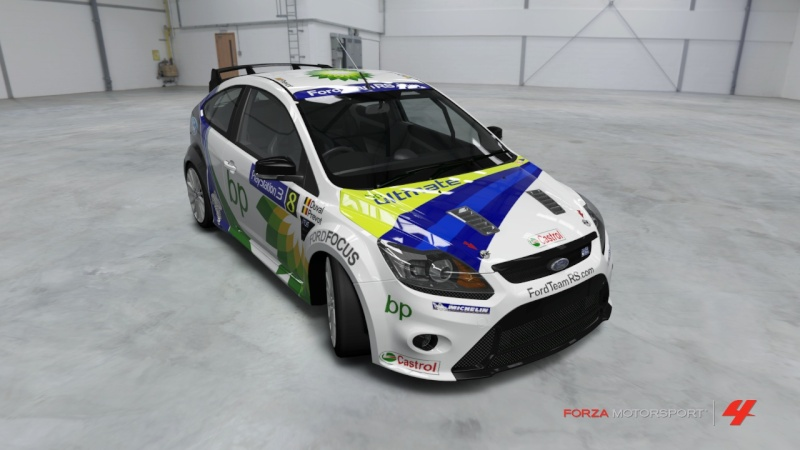 Ford - Focus RS '09 - Team Bp Ultimate Ford_f19