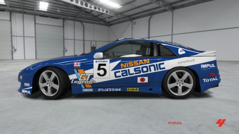 Nissan - Fairlady Z Version S Twin Turbo '94 - Team Calsonic Nissan40
